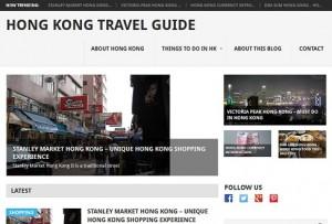 Hong Kong Travel Blog new design