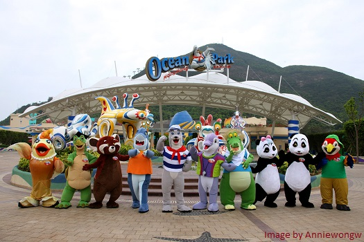 ocean park hong kong main entrance