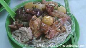 cart noodles hong kong street food