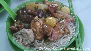 cart noodles hong kong street food