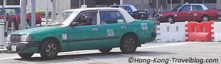 taxi hong kong red green