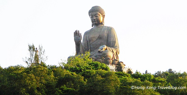 big buddha hong kong image