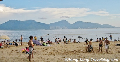 golden beach hong kong image