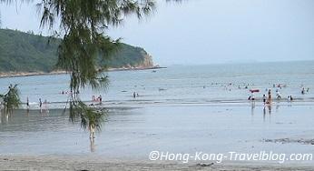pui o beach lantau hong kong