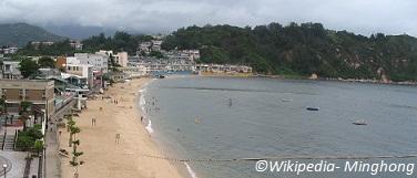 tung wan beach cheung chau
