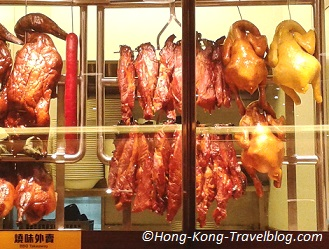 char siu hong kong famous food