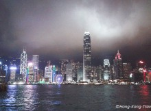 victoria harbour hong kong image