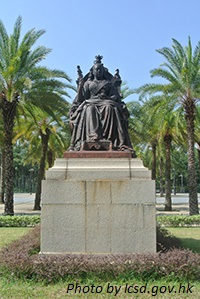 victoria park hk queen victoria statue