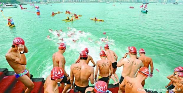 hong kong cross harbour race 2016