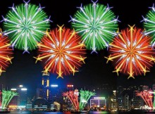 national day fireworks display hong kong 2016