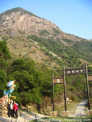 lantau island lantau peak