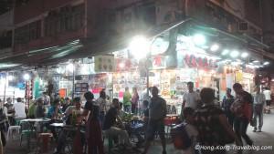 temple street night market food
