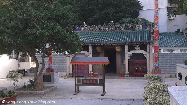 hung shing temple ap lei chau aberdeen
