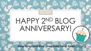 second blog anniversary