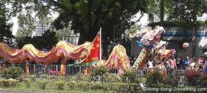 tin hau festival dragon dances