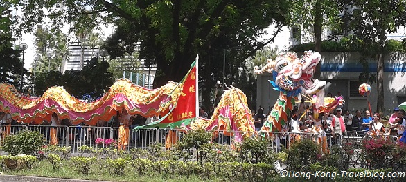 tin hau festival dragon dances