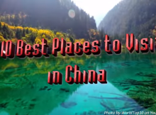 top places to visit in china image