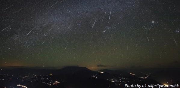 meteor shower hong kong 2017 image