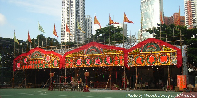 hungry ghost festival hk