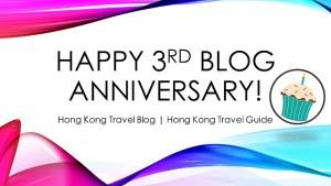 travel blog third anniversary