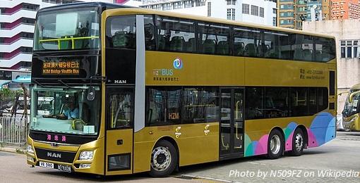 hong kong zhuhai macau bridge bus