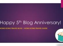 travel blog fifth anniversary