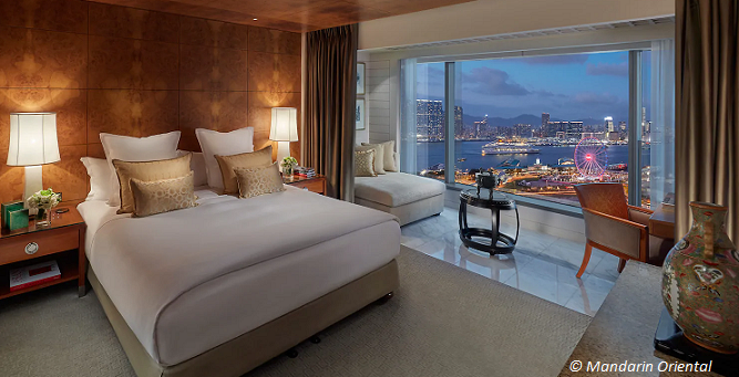 mandarin oriental hong kong staycations